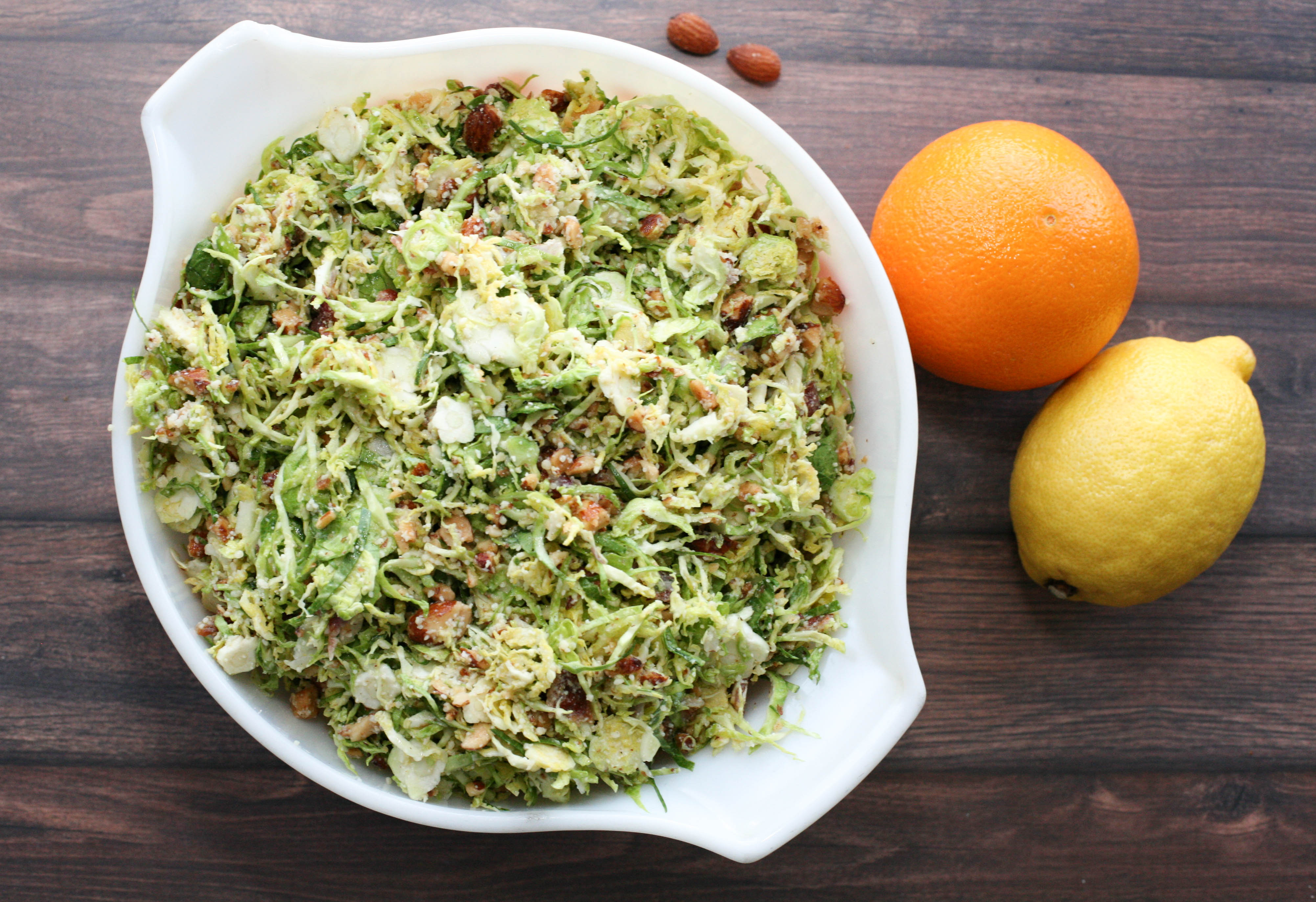 Bacon Brussel Sprouts Salad Pinch Of Parsley